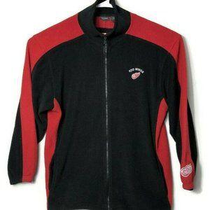 Red Wings NHL Pro Edge Full Zip Fleece Jacket Hock